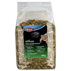 Graminées et herbes de prairie pour tortues - Reptiland - Trixie - Sachet de 300 g