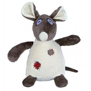 Peluche rat - Trixie - Avec son - 16 cm
