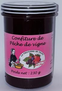 Confiture de pêche de vigne - La Ferme Fruitière de Colpo - 230 gr