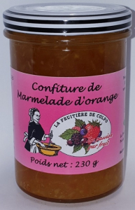 Marmelade d'orange - Ferme Fruitière de Colpo - 230 gr