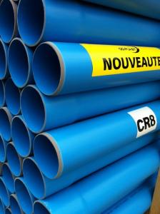 Tuyau PVC CR8 - Ø 100 mm - 3 m