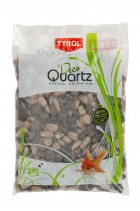 Graviers vernis - Déco Quartz - Tyrol - Mix taupe - Sac de 2 kg