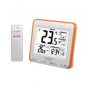 Station de température WS6811-WHI-ORA - Blanc et Orange
