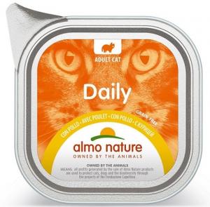 Daily mousse pour chats - Almo nature - poulet - 100 gr