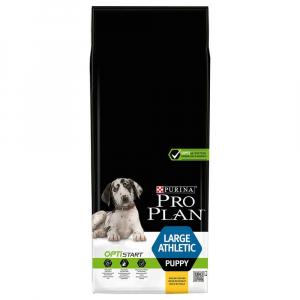 Croquette pour chiens puppy Large & athletic Optistart - Proplan - poulet - 12 kg