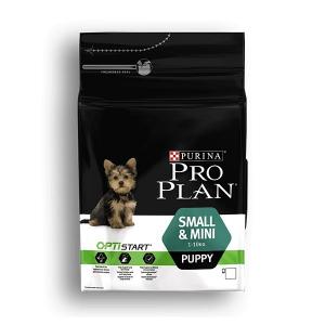 Croquette pour chien Small & mini puppy Optistart - Proplan - poulet - 3 kg
