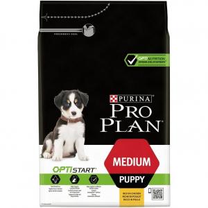 Croquette pour chien Medium puppy Optistart - Proplan - poulet - 3 kg