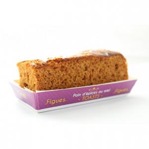 Pain d'épices figues spécial toasts - 120 g