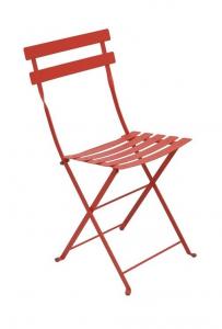 Chaise pliante Bistro - Fermob - Métal - Capucine