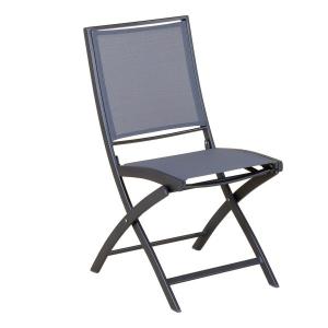 Chaise pliante Keneah - Gris