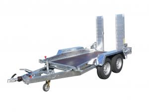 Remorque porte-engin - Lider - Réf. 35860 - 3 m - 3500 Kg - 2 essieux