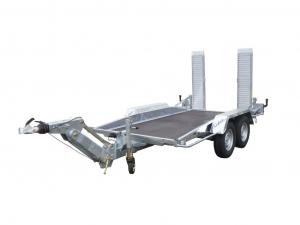 Remorque porte-engin - Lider - Réf. 35905L - Timon ALKO - 3,50 m - 3500 Kg - 2 essieux