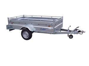Remorque - Lider - Robust 34392 - 2,50 m - 1300 Kg - 1 essieu freiné