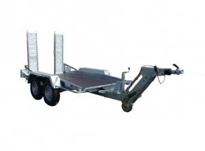 Remorque porte-engin - Lider - Réf. 35865L - Timon ALKO - 3 m - 3500 Kg - 2 essieux