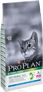 Croquettes pour chats adult Sterilised Optirenal - Proplan - Lapin - 10 kg