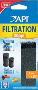 Mousse de filtration 30ppi - Api - x 1