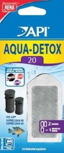 Aqua Detox 20 - Api - x 2