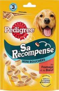 Sa récompense - minis-bouchées pour chiens - Pedigree - boeuf - 140 gr
