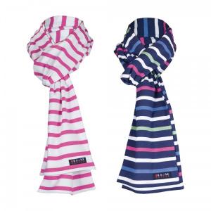Écharpe à rayures en coton 2041 - Batela 1991 - TU - multicolor