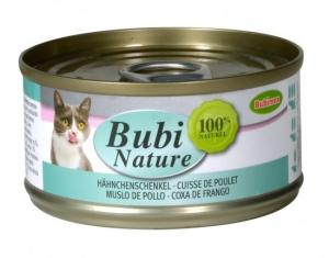 Bubi Nature à la Cuisse de Poulet pour Chats - Bubimex - 70 g