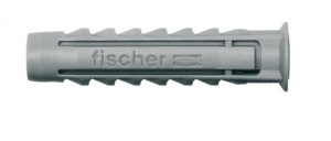 Chevilles nylon x25 à collerette à vis SX 5 S - Fischer