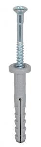 Chevilles à clou nylon x100 NF 80 x 60/20F - Fischer