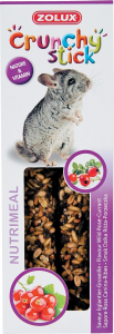 Crunchy Stick Eglantier/Groseille 115 g Zolux - Friandise pour chinchilla