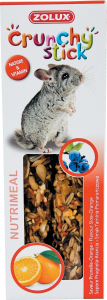 Crunchy Stick Prunelle/Orange 115 g Zolux - Friandise pour chinchilla
