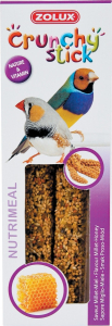 Crunchy Sticks Millet/Miel 85 g pour oiseaux exotiques Zolux - Friandise pour oieaux exotiques