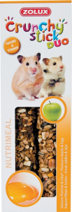 Crunchy Stick Pomme/Oeuf 115 g Zolux - Friandise pour hamster