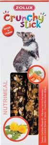 Crunchy Stick Carotte/Pissenlit 115 g Zolux - Friandise pour lapin