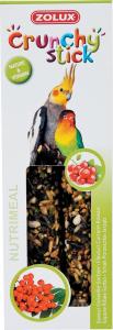 Crunchy Stick Groseille/Sorbier 115 g Zolux - Friandise pour grandes perruches
