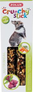 Crunchy Stick Carotte/Betterave 115 g Zolux - Friandise pour lapin