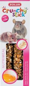 Crunchy Stick Avoine/Oeuf 115 g Zolux  Friandise pour rat et souris