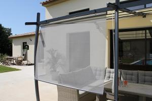 Rideau brise soleil - Couleurs du Monde - L  120 cm - H  160 cm