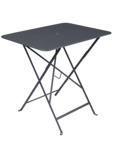 Table pliante Bistro - Fermob - 77 x 57 cm - Carbone