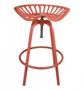 Chaise haute tracteur - Esschert Design - 50 x 46,5 x 69,7 cm - Rouge
