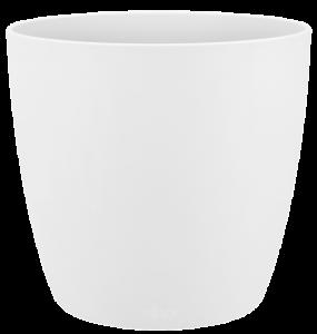 Cache-pot Brussels Rond Mini - Elho - blanc - 9,5 cm