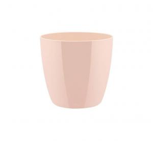 Pot Brussels Diamond Rond - Elho - 14 cm - Rose chair