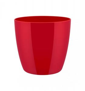 Cache-pot Brussels Diamond Round - Elho - rouge - 20 cm