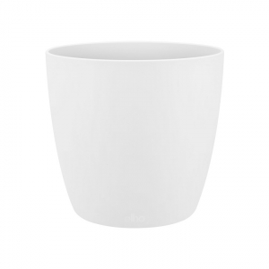 Cache-pot Brussels Rond Mini - Elho - blanc - 7 cm