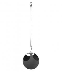 Pot suspendu B.for Soft Air - Elho - 18 cm - Anthracite