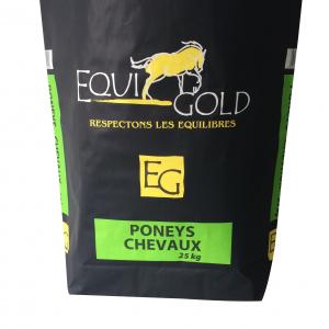 Aliment cheval en granulés Equigold Poney-Chevaux XL - Sac de 25 kg