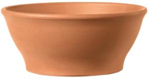 Coupe Ciotola Liscia - Deroma - terre cuite - hauteur 15 cm - Ø32 cm