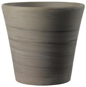 Pot Cono Duo - Deroma - grafite - 26 cm