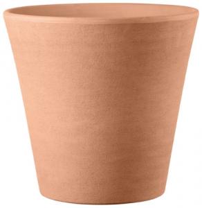 Pot Cono Primitivo - Deroma - terre rosée - 49 cm