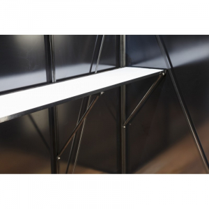 Table universelle de travail pour serre - ACD - 225 x 52 cm - Alu laqué couleur