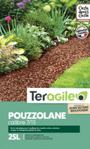 Pouzzolane UAB Teragile BIOLANDES PIN DECOR - 7/15 mm 25 L