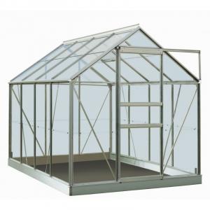 Serre Ivy en verre sécurit 3 mm - ACD - 5 m² - Alu naturel