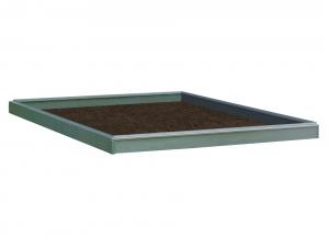 Embase pour serre Lily - ACD - 6,2 m² - Acier